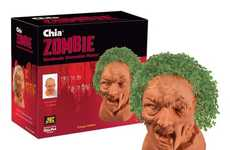 Zombified Garden Growers - These Zombie Chia Pets are Perfect for Halloween