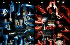 Lifelike Limb Installations - The Dutch Silver Museum by Tinker Features Floating Arm Sculptures