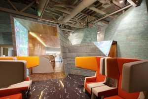 The Koltsovo Airport VIP Lounge Boasts a Futuristic Interior Design