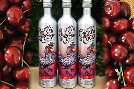 14 Cherry-Flavored Drinks - From Fruit-Infused Vodka to Urban Gangster Cocktails