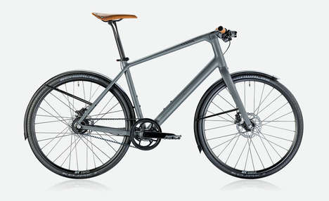 Metropolitan Commuter Bicycles - The Canyon Commuter 7.0 Bike Design is Ideal for City Riding
