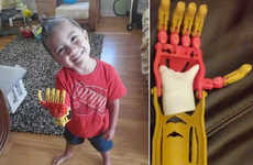Superhero-Inspired Hand Replacements