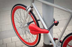 Seat-Integrated Bike Locks
