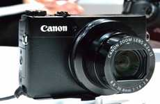 Powerful Compact Cameras - The Canon PowerShot G7 X Has a High-Sensitivity CMOS Sensor