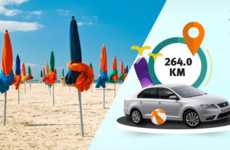 Mileage Countdown Campaigns - SEAT's Summer Campaign Charts the Route to Relaxation