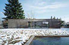 Minimalist Zen Abodes - House Thommy is a Meditative Retreat