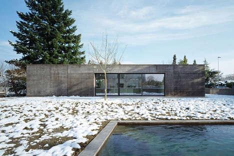 Minimalist Zen Abodes - House Thommy is a Meditative Retreat
