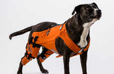 Healing Dog Harnesses - Galia Weiss' Dog Harness Concept Provides Relief for Dogs with Hip Dysplasia