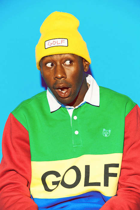 Irreverent Hip-Hop Collections - The Golf Wang Fall/Winter Lookbook Features a Multitude of Color