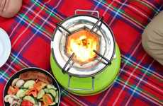 Solar-Powered Stoves