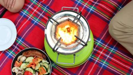 Solar-Powered Stoves - The ACE 1 Stove Uses Solar and Biomass Energy