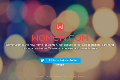 Female-Only Online Networks - Women.com is an Invite-Only Female Social Network for the Ladies