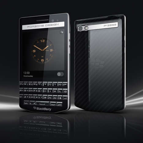 Auto-Designed Smartphones - The Blackberry 'P'9983' was Designed by Porsche
