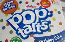 Birthday Cake Pastries - Celebrate Pop-Tarts' 50th Anniversary with its New Birthday Cake Flavor