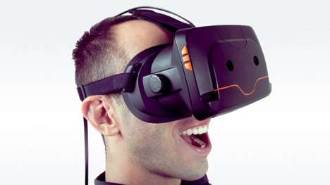 Virtual Reality Headsets - The Totem Headset Has Two On-Board Cameras and HDMI Compatibility