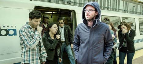 Anti-Germ Transit Jackets - The Germinator Jacket Protects You From Germs On Public Transit