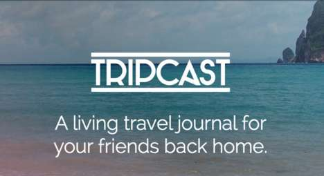 Trip Sharing Social Apps - This Travel Journal App Lets You Share Details of Your Trip Securely