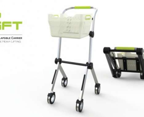 Collapsible Grocery Trolleys