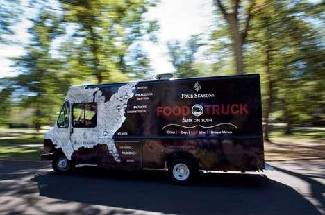 Luxe Hotel Food Trucks - The Taste by Four Seasons Food Truck Serves Up Regional Specialties