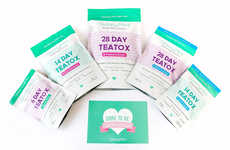 Detoxifying Tea Cleanses - SkinnyMint's Tea Detox Aims to Help with Weight Loss & Detoxification