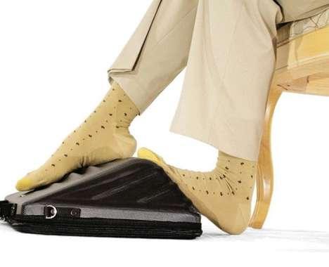 Foot Massaging Computer Covers