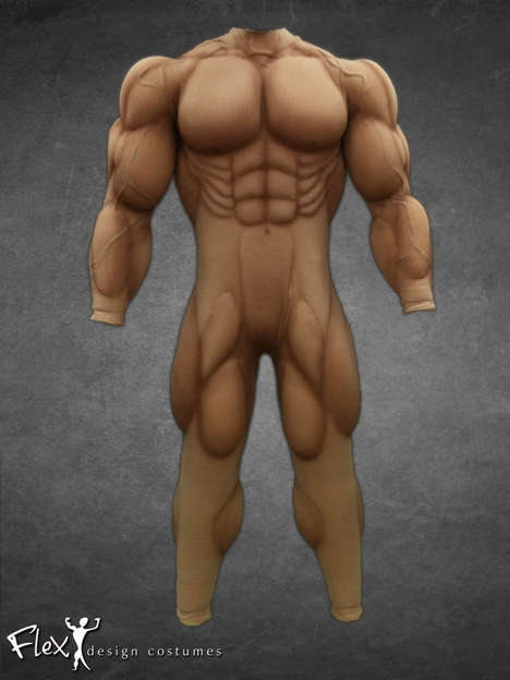 Muscular Body Suits - This Muscle Suit from Flex Design is All You Need to Get a Toned Body