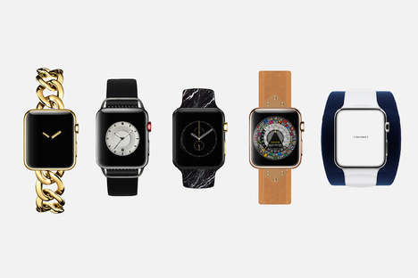Reimagined Tech Fashions - This Series Imagines Fashion Designer Apple Watch Creations