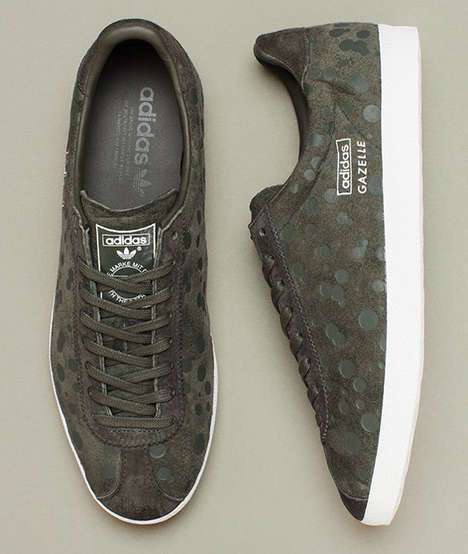 Dotted Sneaker Collections - The Adidas Originals Drip Dot Camo Collection for F/W 2014 is Artistic