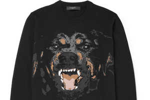 The Givenchy Rottweiler Sweater Will Appeal to Fans of This Dog Breed