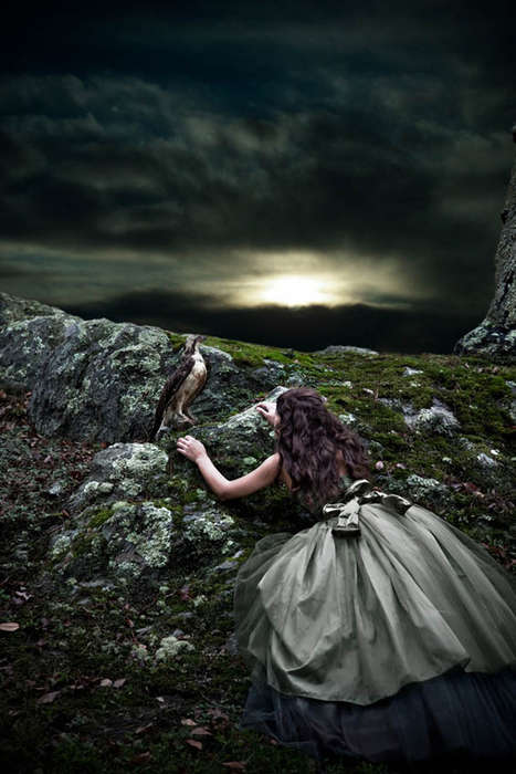 Fantastical Fairytale Portraits - Claire Rosen Captures Herself in Various Storied Situations