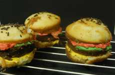 Confectionery Burger Recipes - These Hamburger Cupcakes Offer Fast Food Lovers a Sugary Alternative