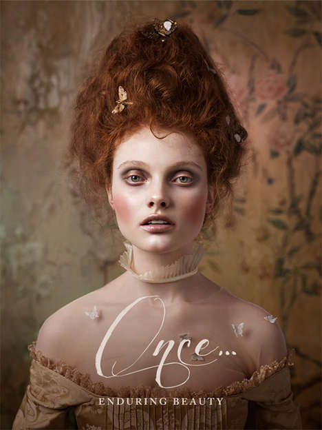 Feminine Fairy Tale Cosmetics - The Illamasqua Once Collection Sets a Whimsical Tone for Autumn