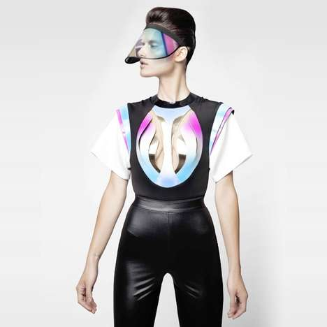Bespoke Futuristic Fashions - Alon Livné's Customized Womenswear Line Boasts Vanguard Looks
