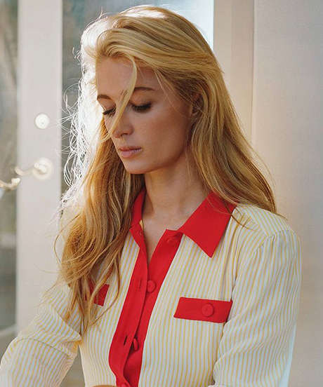 Demure Heiress Editorials - This Paris Hilton Editorial Paints the Socialite in a New Light