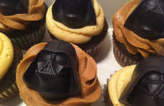 Galactic Themed Confections - These Star Wars Chocolates From Sweet Belle Cakes Have Iconic Shapes