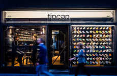 Canned Seafood Restaurants - The Tincan Restaurant Seeks to be the Best Provider of Tinned Seafood