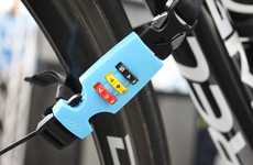 Convenient Combination Devices - The Helmet Lock Lets Cyclists in a Hurry Quickly Secure Their Bikes