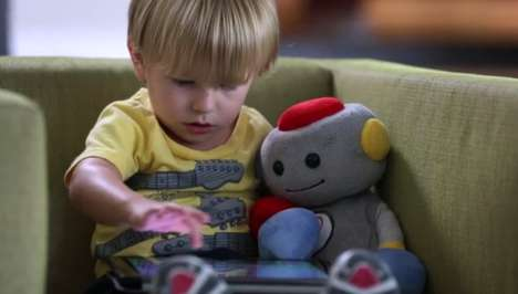 Plush Storytelling Robots - TROBO is a Cute Doll That Will Help Kids Fall in Love with Learning