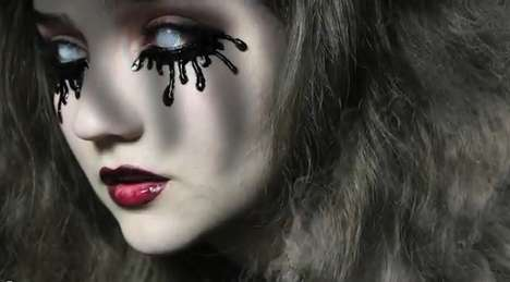 70 Scary Halloween Makeup Looks - From Creepy Colorful Contacts to Pop Art Zombie Makeup
