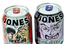 Spooky Halloween Sodas - These Seasonal Jones Soda Flavors Taste Like Halloween Candy