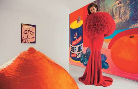 Retro Art Collector Portraits - W Magazine's Modern Art Editorial Looks to the Past for Inspiration