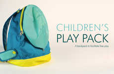 Free-Play Backpacks - The Play Pack by Meg Czaja Encourages Unstructured Creativity and Imagination