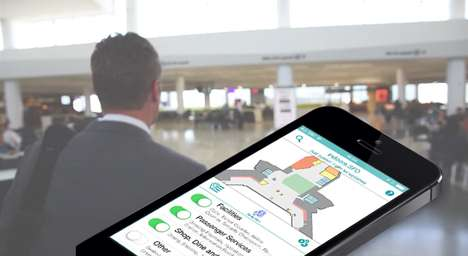 26 Beacon Innovations for Travelers - From Airport Navigation Apps to Bag-Tracking Tech Concepts