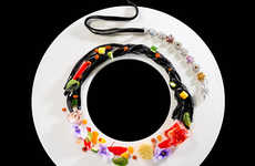 Jewelry-Inspired Meals - The Ritz-Carlton's Gourmet Food Collection Honors Damiani's Anniversary