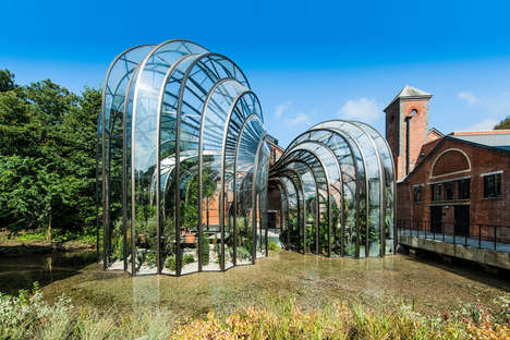 Glass House Distilleries - The Bombay Sapphire Head Office by Thomas Heatherwick is Impressive