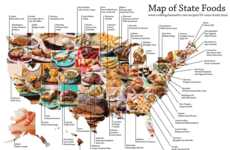 Patriotic Culinary Infographics