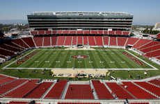 Washroom-Locating Beacons - Levi's Stadium's Beacons Help Fans Find Washrooms, Parking Spots & More