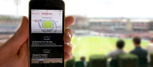 Beacon-Fitted Cricket Stadiums - London's Kia Oval Uses Beacon Technology to Engage With Fans
