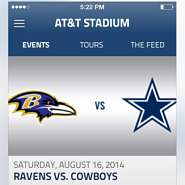 Beacon-Embracing Stadiums - AT&T Stadium is Using Beacons to Upgrade the Spectator Experience