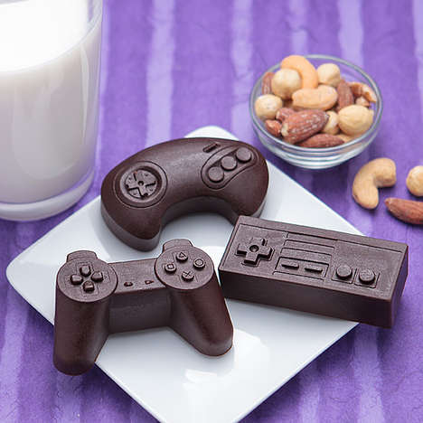 Retro Game Food Shapers - This Classic Controller Mold Gives Your Food a Vintage Video Game Theme